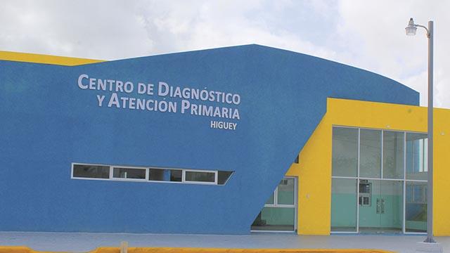 Fachada del Centro de Diagnóstico y Atención Primaria.